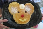 Where else but Disneyland do you find Mickey pancakes?